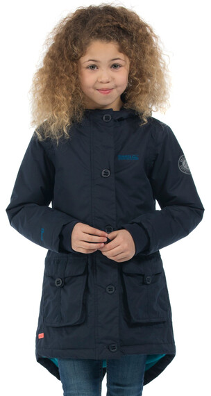 Regatta Totteridge Parka Girls Navy